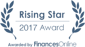 Rising Star 2017 by FinancesOnline