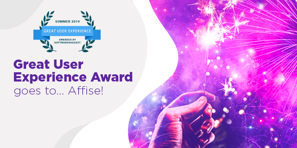 Affise is Awarded for Great User Experience