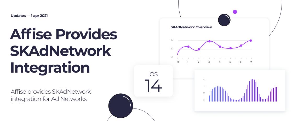 Affise provides SKAdNetwork integration for Ad Networks